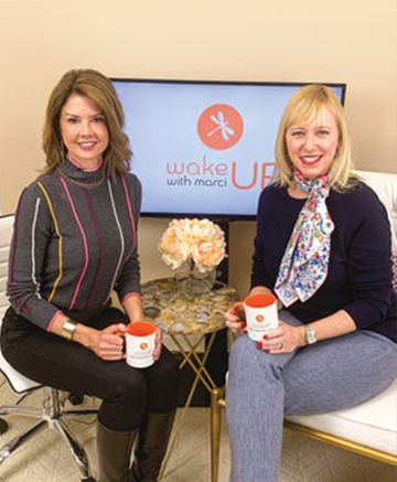 Marci Hopkins, host of Wake Up with Marci