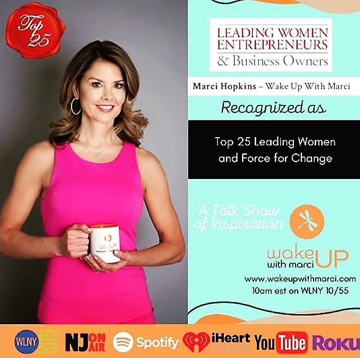 Picture of Marci Hopkins - Wake up with Marci, recognized as Top 25 leading women and force for a change.